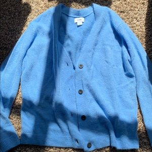 Blue soft brand new Old Navy button cardigan